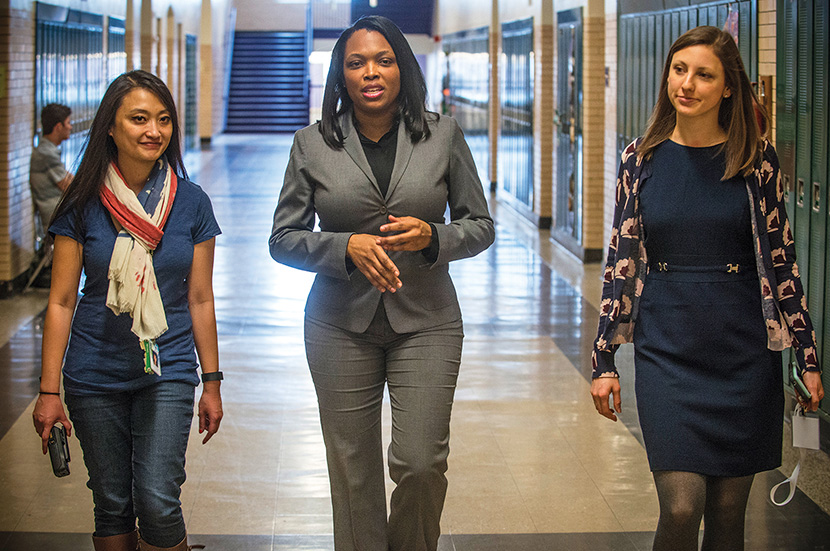 Chicago's Top Educator Moves Boldly