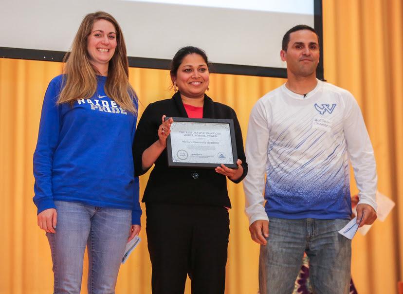 Wells Earns Model School Award